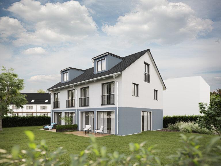 Doppelhaus-Villa