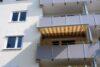 Charmant renovierte 3-Zimmer-Wohnung beim Luitpoldpark - Balkon mit Markise