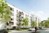 Riesen Gelegenheit in den IsarDocks, Sonnige 4-Zimmer-Wohnung mit Top Ausstattung zum Erstbezug nahe der Isar! - Hausansicht von der Strasse