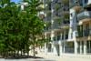 Edel wohnen in den Nymphenburger Innenhöfen - 2-Zimmer-Wohnung im 4. OG mit 2 Balkonen - Häuseransicht Bild 1