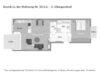 Edel wohnen in den Nymphenburger Innenhöfen - 2-Zimmer-Wohnung im 4. OG mit 2 Balkonen - Grundriss der Wohnung