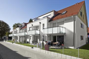 Charmante 2-Zimmer-Wohnung mit Garten, 82008 Unterhaching, Erdgeschosswohnung
