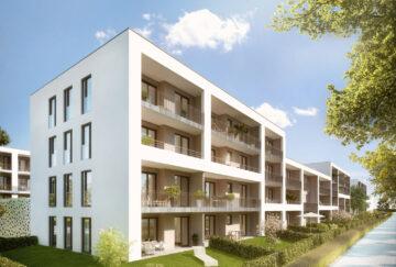 ERSTBEZUG: Sonniges Wohnjuwel in Altperlach – 2-Zimmer-Wohnung mit großem Süd-Balkon, 81737 München, Etagenwohnung
