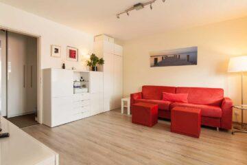 Helles charmantes 1-Zimmer-Appartement mit Sonnen-Balkon, Unterhaching, 82008 Unterhaching, Etagenwohnung