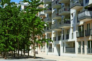 Edel wohnen in den Nymphenburger Innenhöfen – 3-Zimmer-Wohnung im 5.OG mit 2 Balkonen, 80336 München, Etagenwohnung
