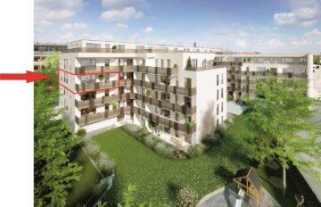 Riesen Gelegenheit in den IsarDocks, Sonnige 4-Zimmer-Wohnung mit Top Ausstattung zum Erstbezug nahe der Isar!, 81371 München, Etagenwohnung