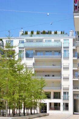Repräsentative Luxus-Penthousewohnung in den Nymphenburger Höfen, 80335 München, Penthousewohnung
