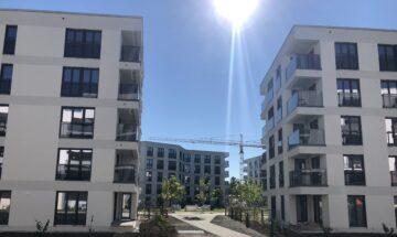"""Neubauambiente im grünen Wohnensemble """"ParkStyle"""" mit City-Feeling im Münchner Westen, 81249 München, Etagenwohnung"""